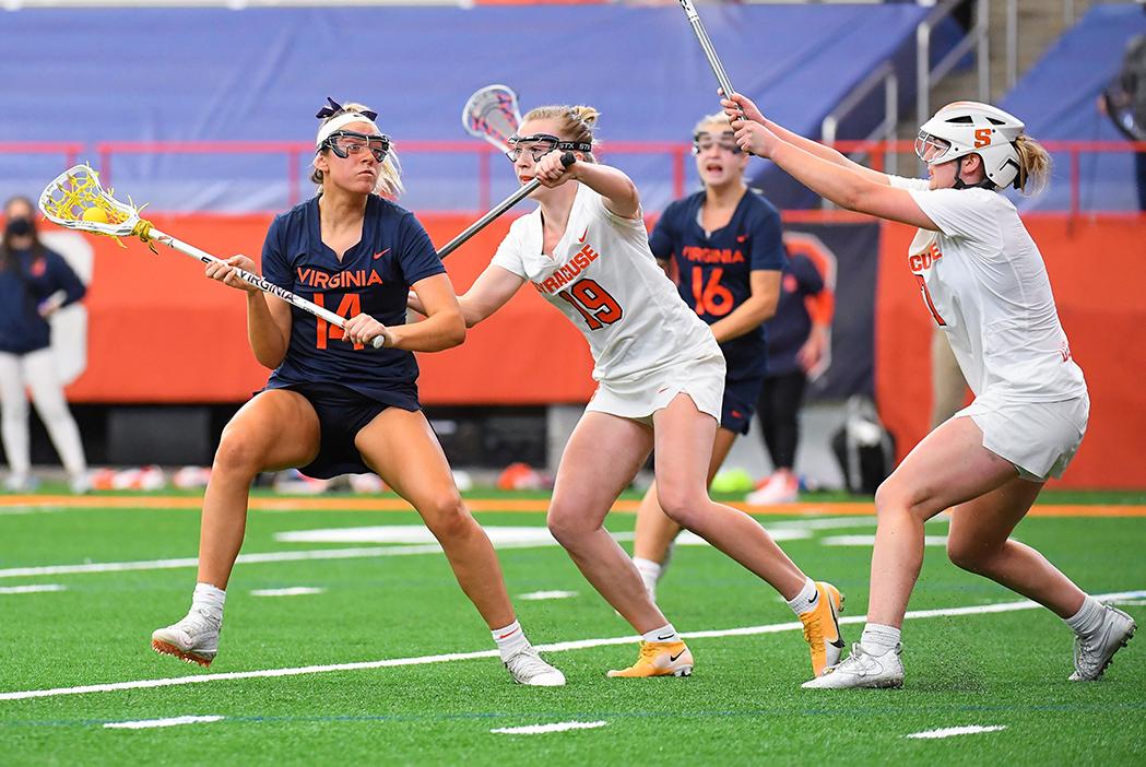 Syracuse's high-pressure zone defense.