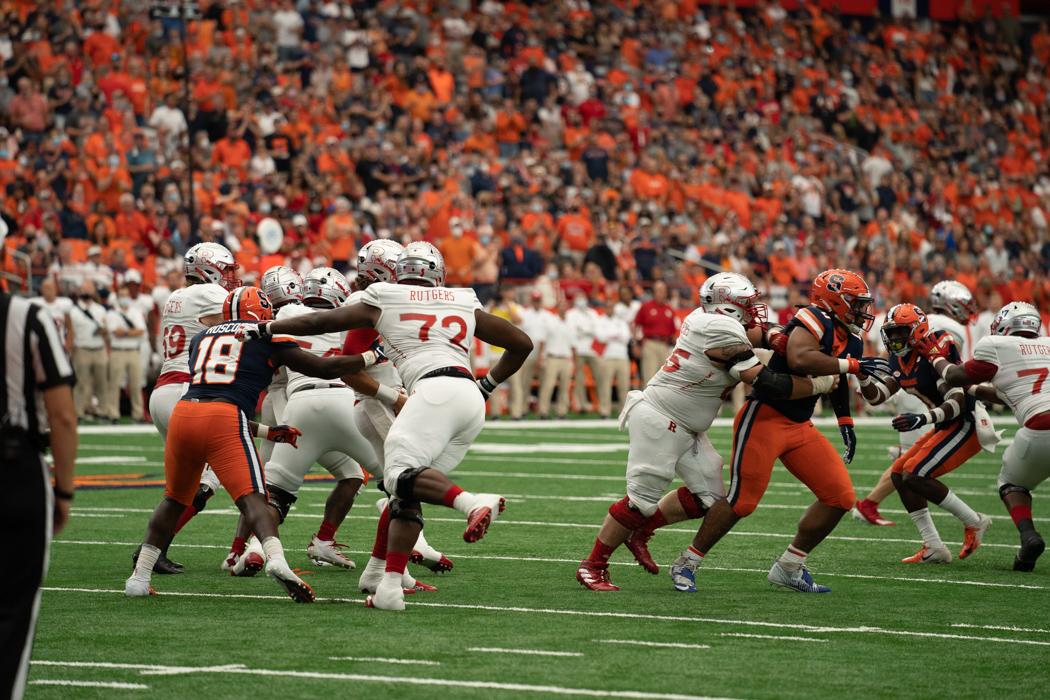 Syracuse football vs. Rutgers