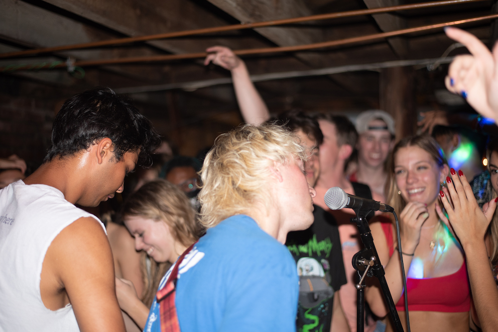 Picture Us Tiny student group performs at house show