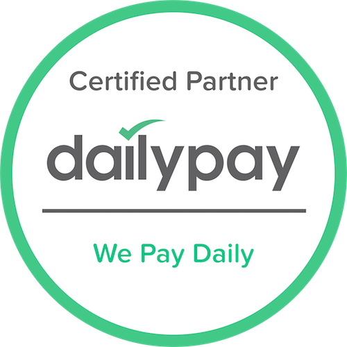 Daily Payment Option Available! Learn More at www.dailypay.com!