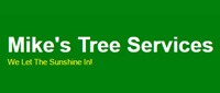 Website for Mike's Tree Service