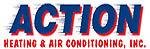 Website for Action Heating & Air Conditioning