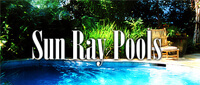 Website for Sun Ray Pools & Spas