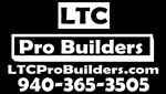 Website for LTC Professional Builders, Inc.