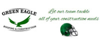 Website for Green Eagle Roofing and Construction