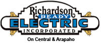 Website for Richardson Ready Electric, Inc.