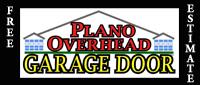 Website for Plano Overhead Garage Door