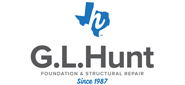 Website for G.L. Hunt Foundation Repair