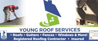 Website for Young Roof Services