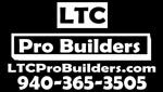 Website for LTC Professional Builders, Inc.