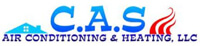 Website for C. A. S. Air Conditioning & Heating LLC