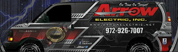 Website for Arrow Electric Service, Inc.