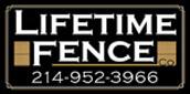 Website for Lifetime Fence