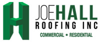 Website for Joe Hall Roofing, Inc