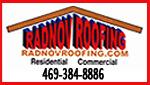Website for Radnov Roofing