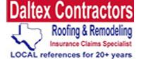 Website for Daltex Contractors, LLC