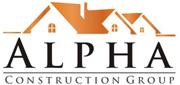 Website for Alpha Construction Group