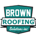 Website for Brown Roofing Solutions, Inc
