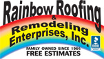 Website for Rainbow Roofing and Remodeling Ent., Inc.