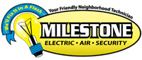 Website for Milestone Electric & Air