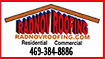 Website for Radnov Roofing