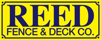 Website for Reed Fence & Deck Company