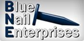 Website for Blue Nail Enterprises, LLC