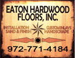 Website for Eaton Hardwood Flooring, Inc.