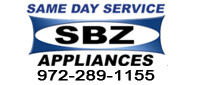 Website for SBZ Appliance