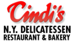 Website for Cindi's N.Y. Deli, Restaurant & Bakery