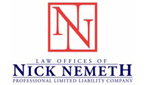 Website for Law Offices of Nick Nemeth PLLC