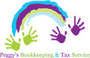 Website for Peggy's Bookkeeping & Tax Service