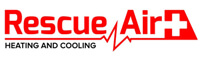 Website for Rescue Air Heating and Cooling (Air Conditioning)