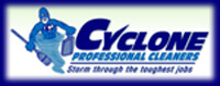 Website for Cyclone Professional Cleaners