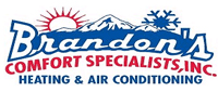 Website for Brandon's Comfort Specialists, Inc.