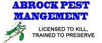 Website for Abrock Pest Management, Inc.