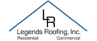 Website for Legends Roofing