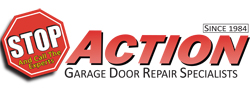 Website for Action Garage Door Repair Specialists