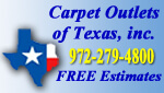 Website for Carpet Outlets of Texas, Inc.