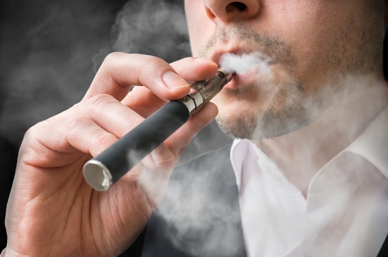 Exposure to e-Cigarette Smoke Associated With Lung Cancer in Mice