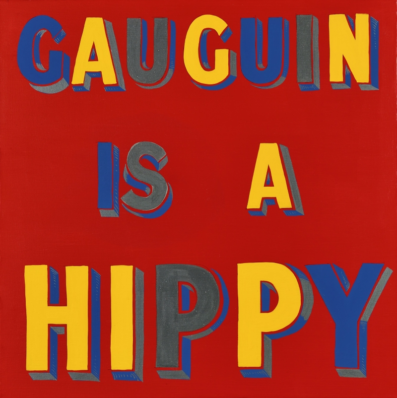 Gauguin is a Hippy