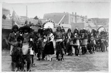 Dance in the Pueblo San Juan