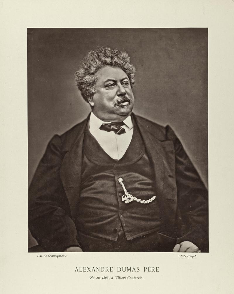 Portrait of Alexandre Dumas, père