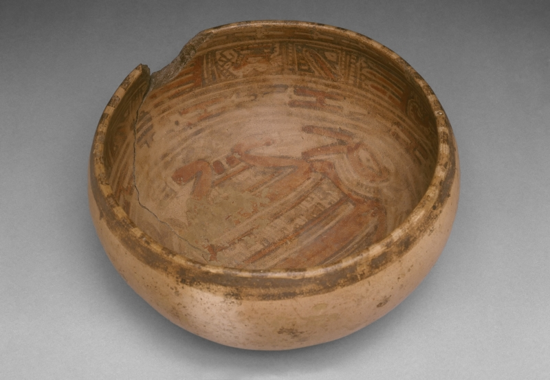 Bowl with Painted Interior