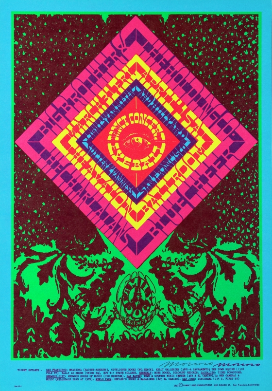 Eye Ball; Big Brother and the Holding Company, The Charlatans, and Blue Cheer at Avalon Ballroom