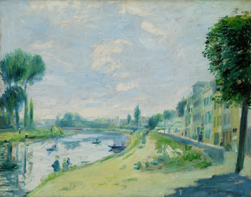 Banks of the Seine, Bougival (Bords de la Seine, Bougival)