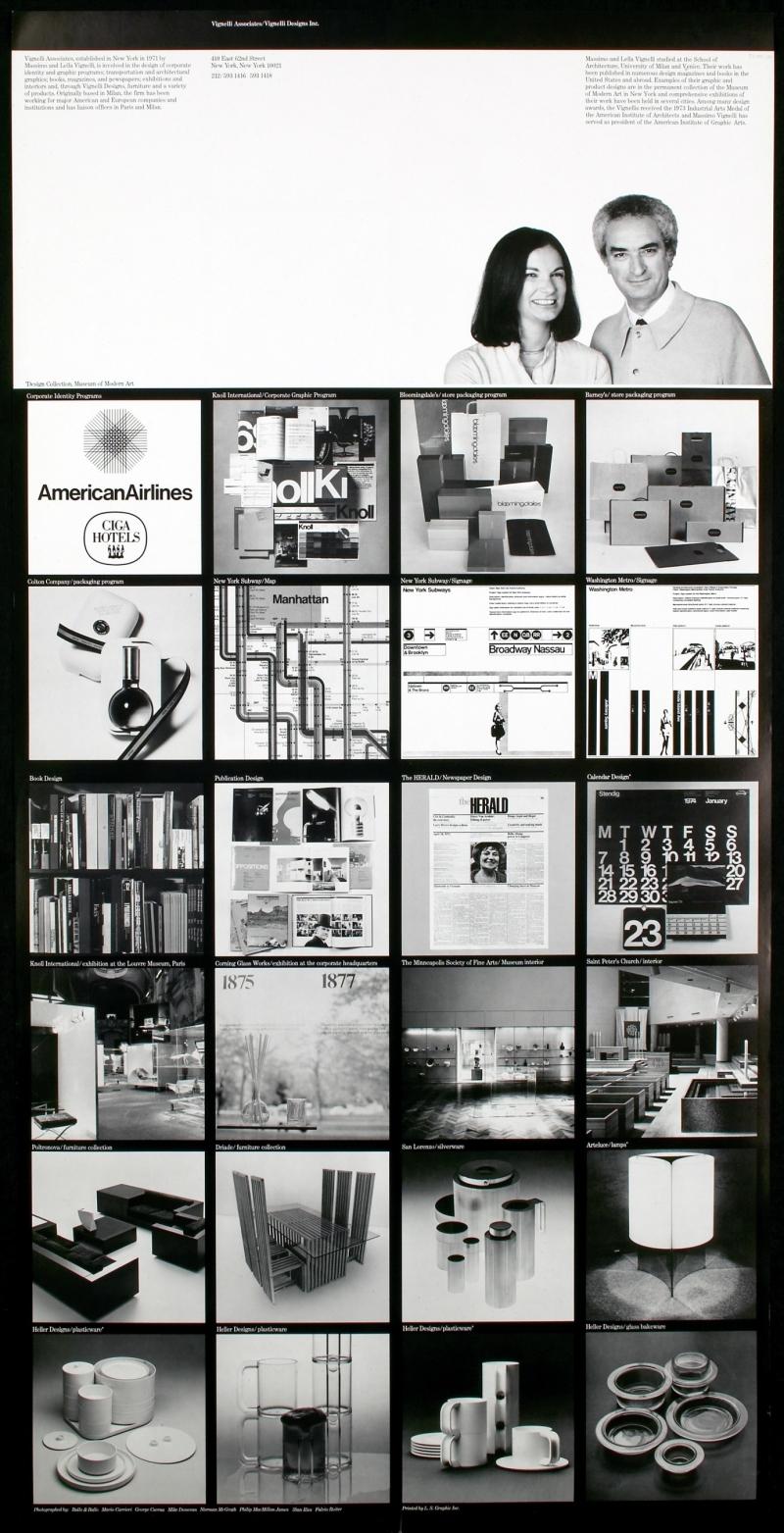 Vignelli Associates/Vignelli Designs, Inc.