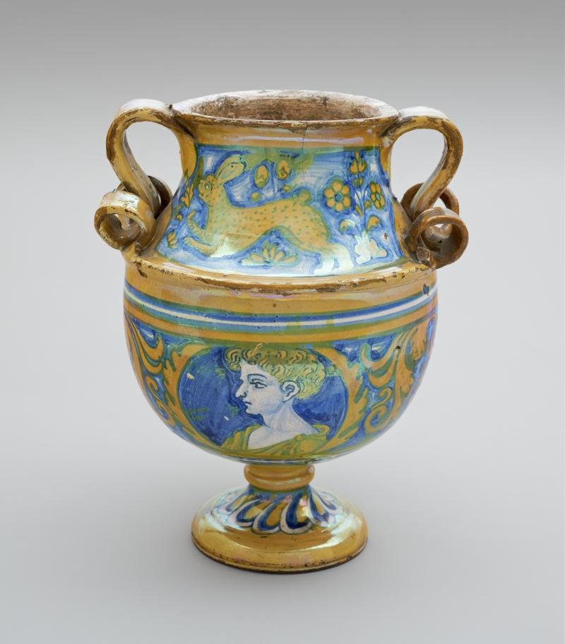 Maiolica Vase