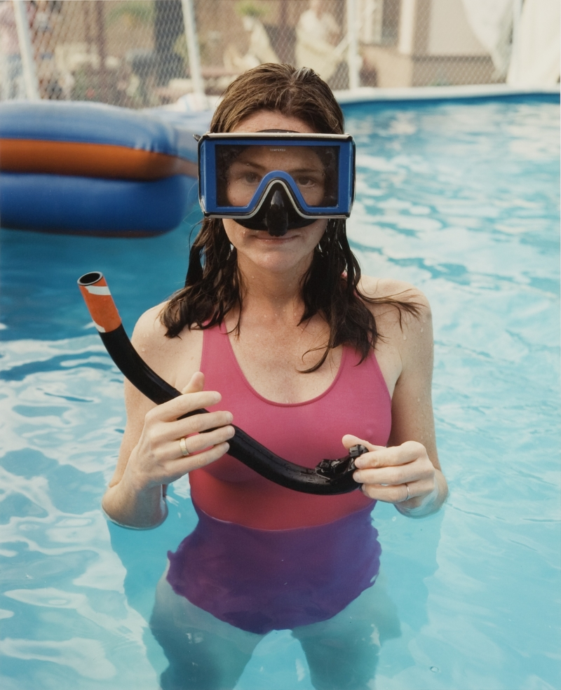 Pamela in the Pool, Palatine, Illinois