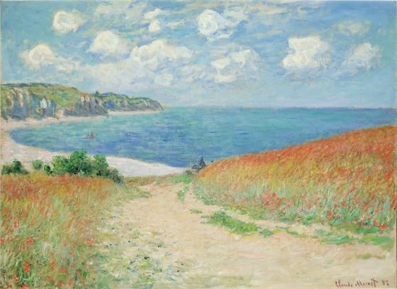 Path in the Wheat Fields at Pourville (Chemin dans les blés à Pourville)